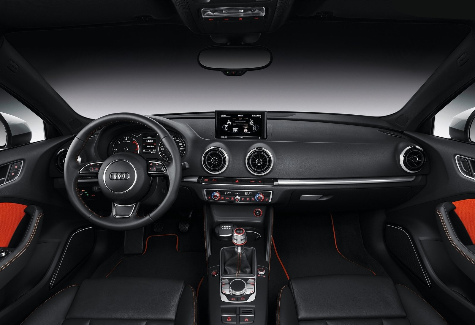 Intrieur 1 9 audi a3 sportback s line 2014 http for Interieur q3 s line