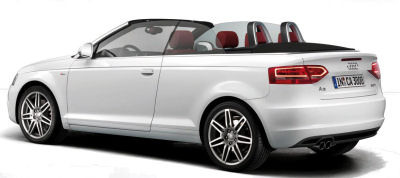 Galerie de photos de la Audi A3 cabriolet