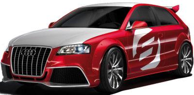 Présentation de l'Audi A3 TDI Clubsport Quattro.