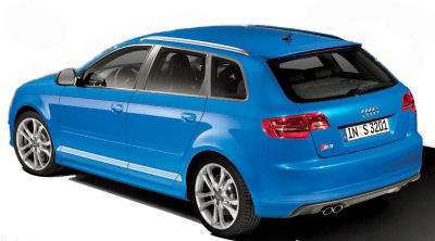 Découvrez la nouvelle Audi S3 Sportback, nouveauté de la gamme Audi A3 2009, motorisée par un 2,0L TSFI de 265 ch..